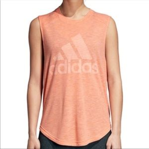 NWT Adidas Winners Tee muscle burnout t-shirt